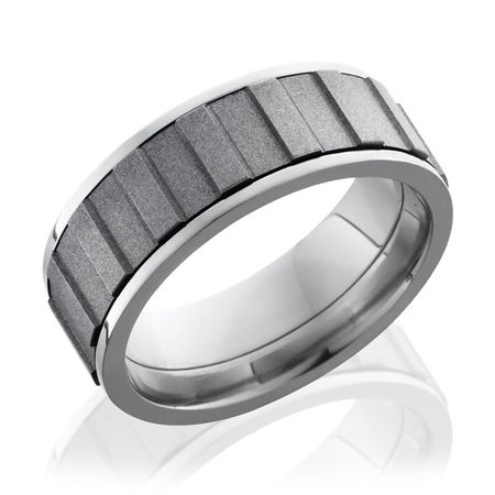 Titanium Gear Spinner Ring by Lashbrook