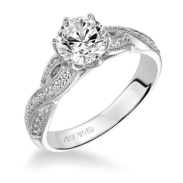 Calla ArtCarved Engagement Ring -  ArtCarved Style Number 31-V200
