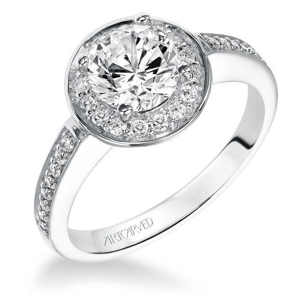 "ArtCarved ""Nadia"" Engagement Ring"