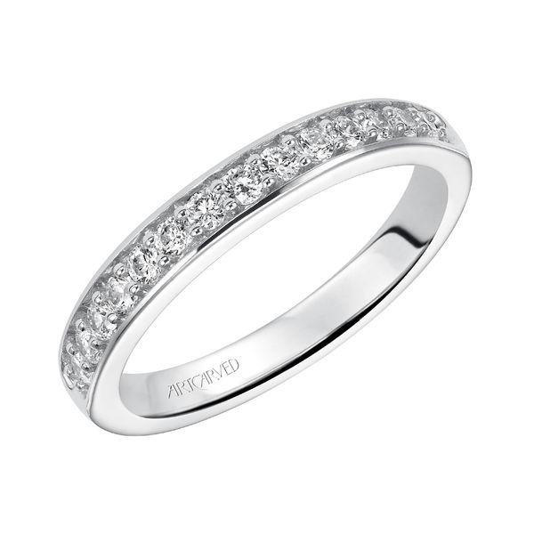ArtCarved Diamond Wedding Band, Natalia - 31-V194WL