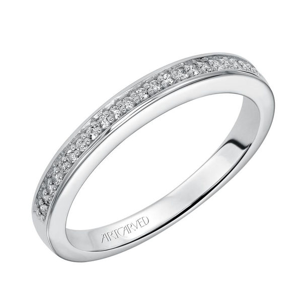 ArtCarved Diamond Band, NADIA - ArtCarved Matching Diamond Band