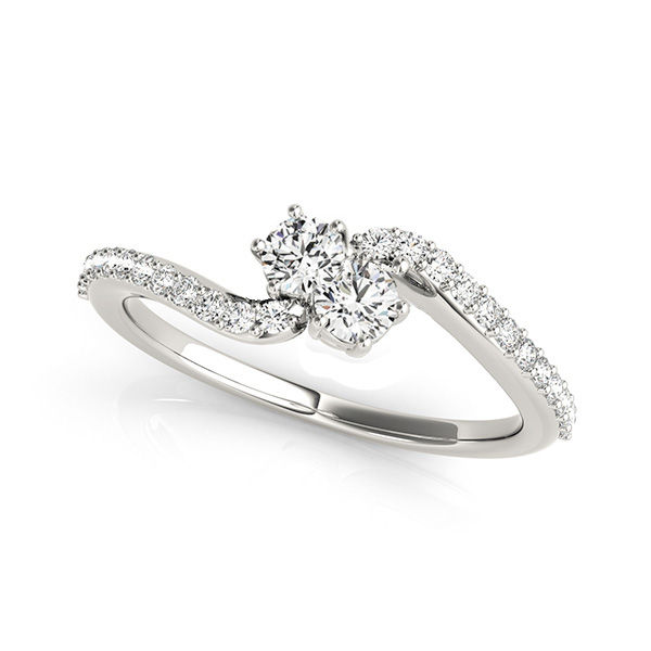Ever Us Diamond Ring - .50 ct of Gleaming White Diamonds