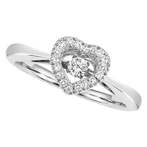 Rhythm of Love Diamond Heart Ring - Promise Ring from Rhythm of Love
