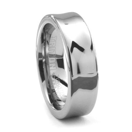 TRITON® Tungsten Wedding Band - RIPPLE