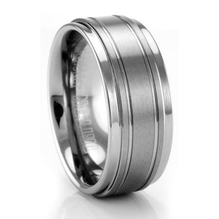 BELLUS Tungsten Ring by TRITON