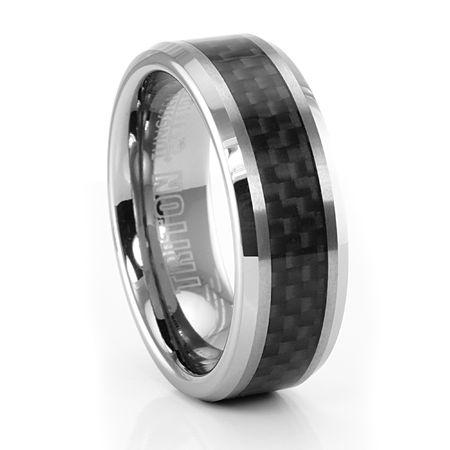 triton wilton carbon fiber tungsten ring 8mm