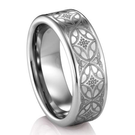ARTCARVED  ® Tungsten Ring - CITADEL