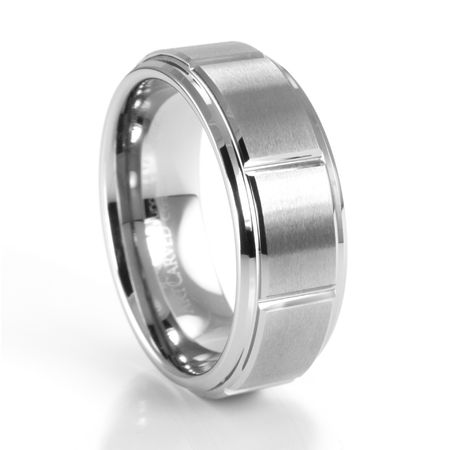 LOGAN Tungsten Ring by ArtCarved