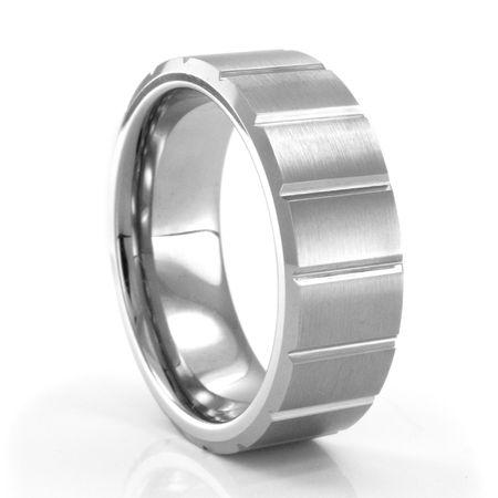 CORDOBA Tungsten Carbide Ring by J.R. YATES