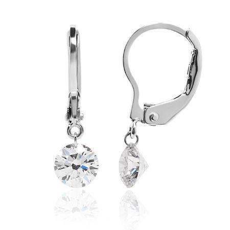 Dancing Diamond Earrings - 3/4ctw