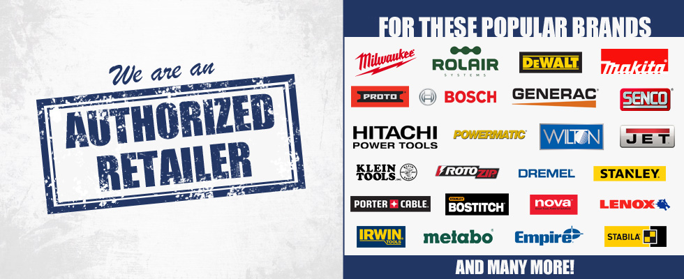 Authorized Retailer for many popular brands