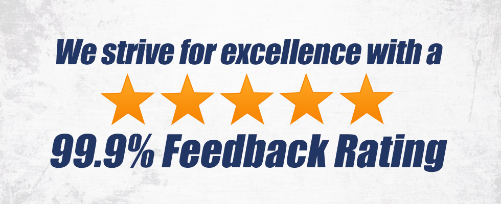 Excellent feedback rating