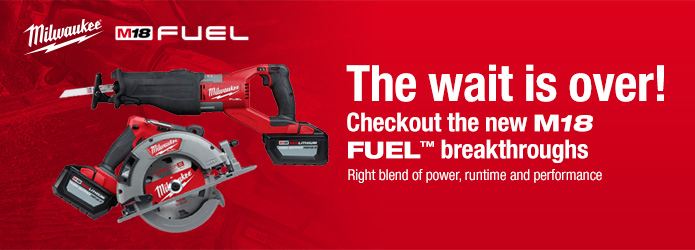Milwaukee - Next M18 FUEL Breakthrough Lineup