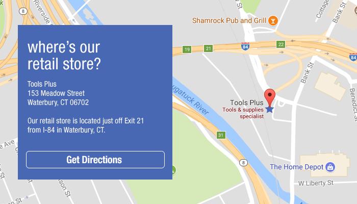 Tools Plus - Waterbury Retail Store Location