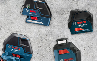 $25 Off Select Bosch Interior Leveling Lasers