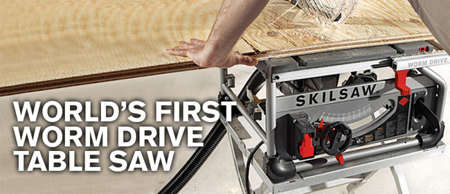 SKILSAW SPT70WT-22 Worm Drive Jobsite Table Saw