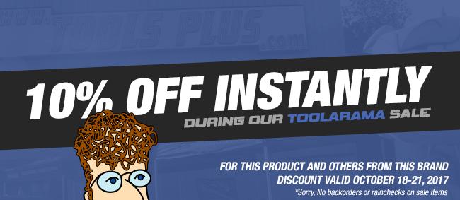 Tools Plus Tool-A-Rama 2017 - 10% Off