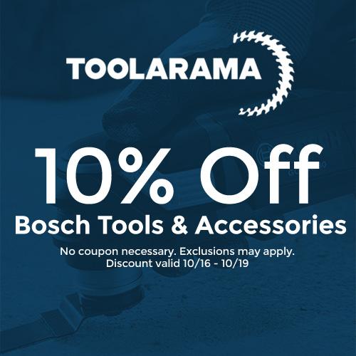 Tool-A-Rama - 10% Off Bosch