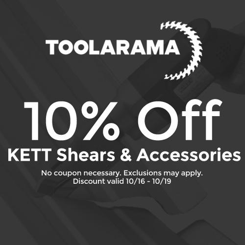 Tool-A-Rama - 10% Off Kett