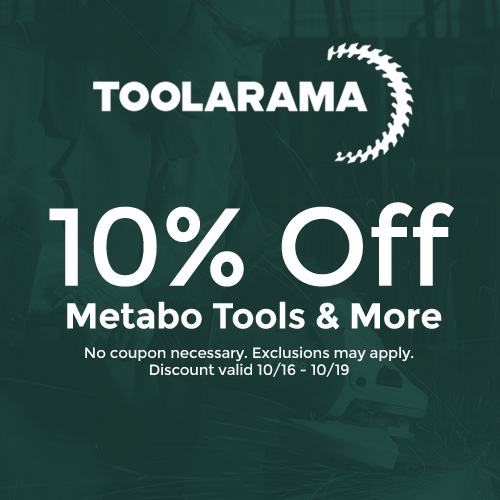 Tool-A-Rama - 10% Off Metabo