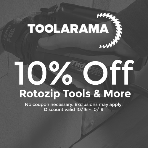 Tool-A-Rama - 10% Off RotoZip