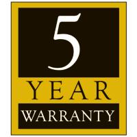 Jet 5 Year Warranty