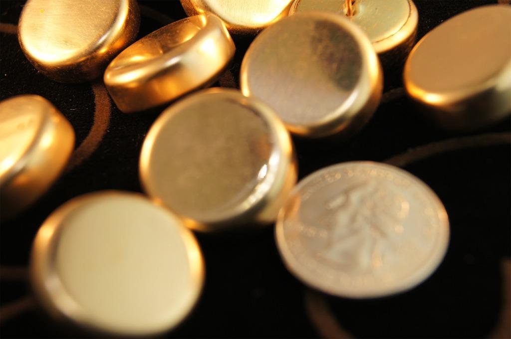 Gold Shank Metal Buttons