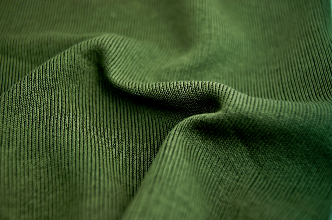 Olive Green Double Knit Fabric
