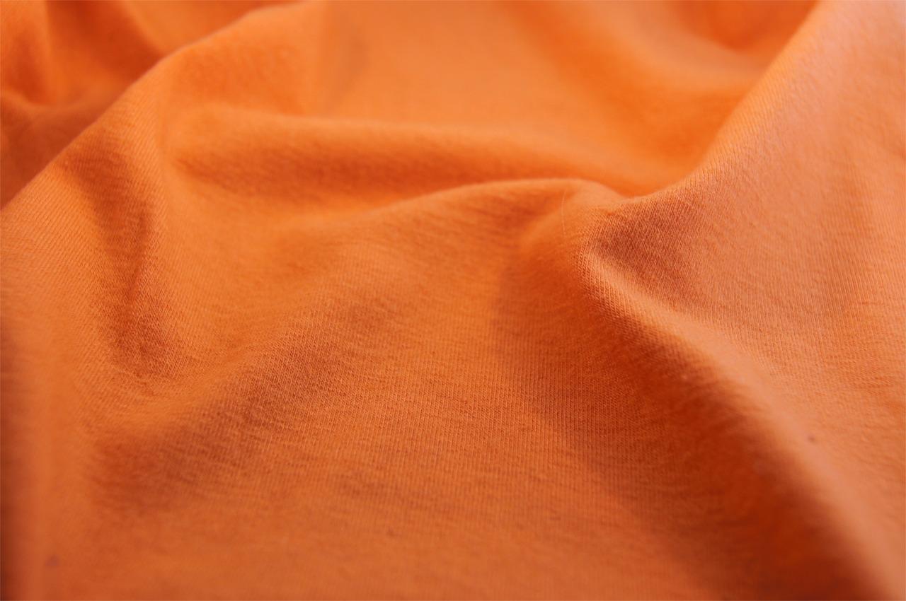 Papaya Soft Stretch Cotton Jersey Knit Fabric