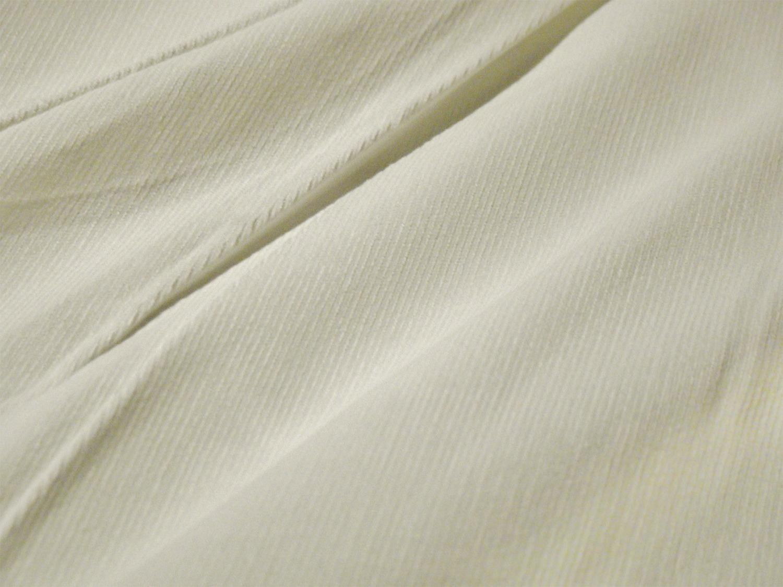 natural white fine wale cotton corduroy fabric