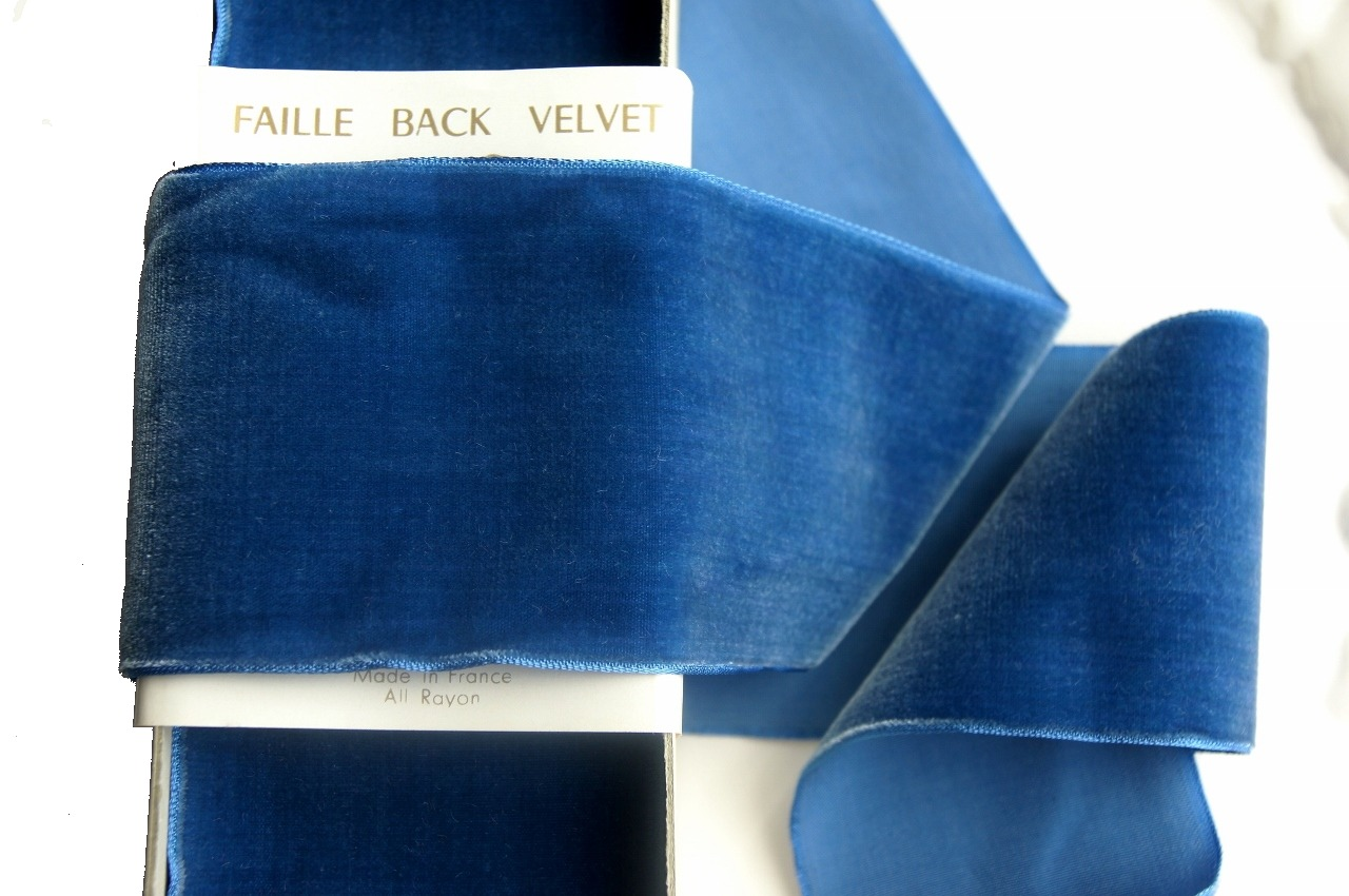 French Royal Wide Velvet Ribbon