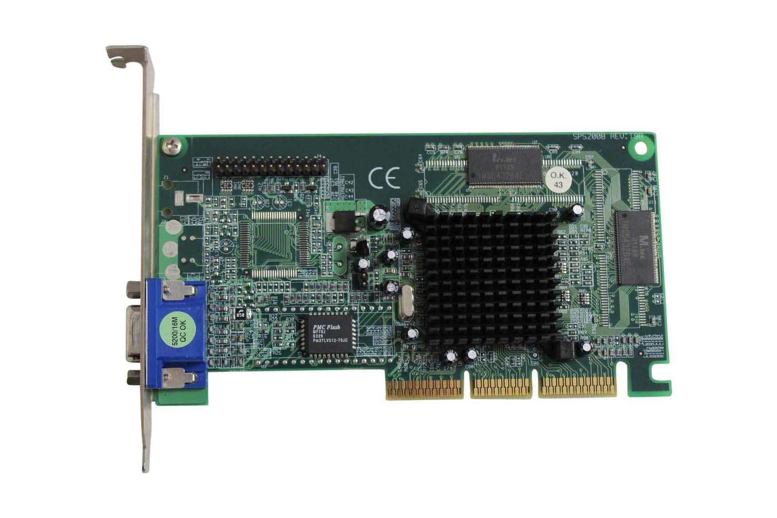 Nvidia 032-A4-Nv02-S1 Nvidia 32Mb Agp E-Tnt2 M64