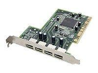 Dell 08R835 Pci Quad Port Usb