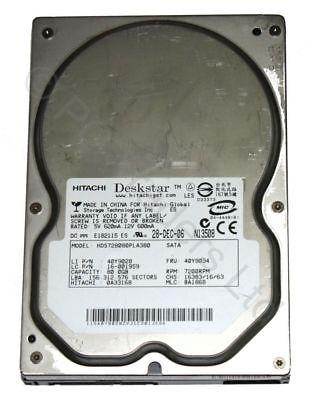 80GB SATA DeskStar 7K80 3.5 7200RPM