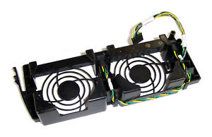 Dell PowerEdge 2600 Dual Fan Fans Cage Housing With Mounting Bracket-0C422