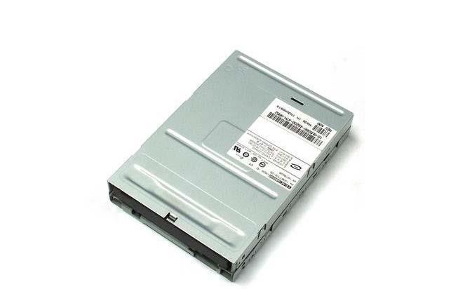 Dell floppy Black Door no button