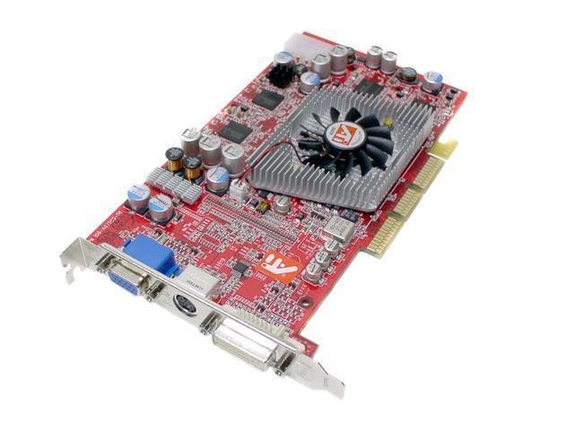 Radeon-Mac 109-A07531-03 Video Card Radeon 9800 Pro Mac 256M