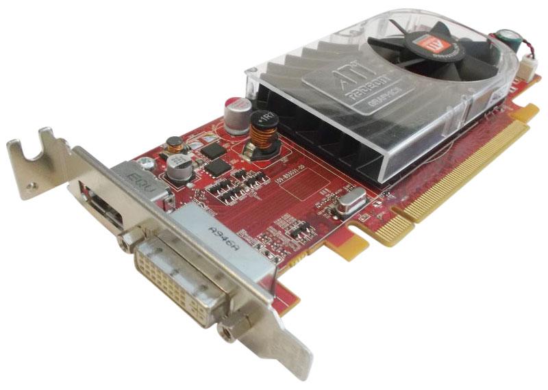 Ati Hd3470 (Rv620) Pci-E X16 256Mb Graphics Card Low Profile