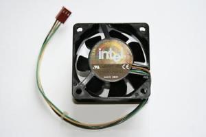Intel 60mm 25mm DC12V 0.24A 3-Pin CPU/Case Cooling Fan Sanyo Denki 109R0612G4051