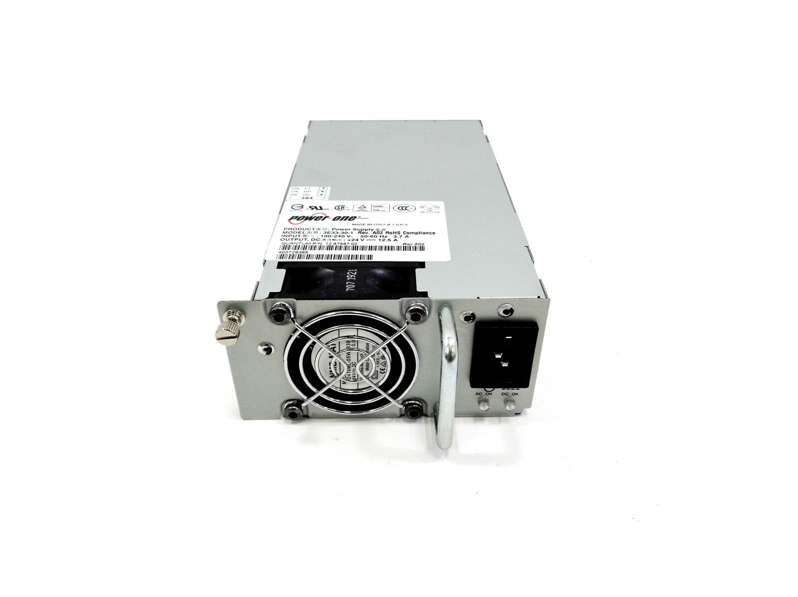 Quantum 12.87587.02 Px502 Px506 Px510 Library Power-one Power Supply