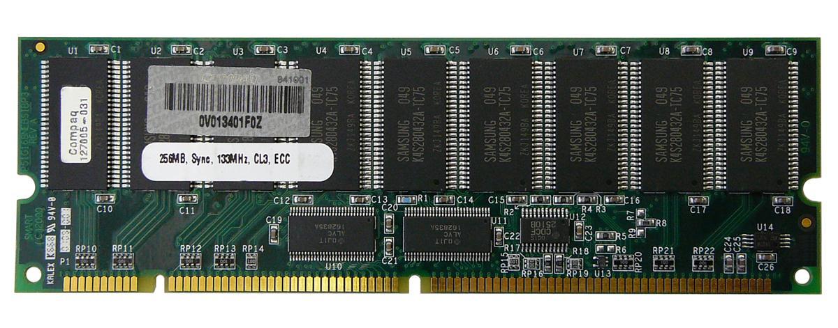 Memory 256Mb Dimm Sdram Ecc 133Mhz Cl3