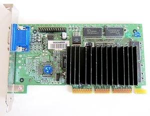 Nvidia 180-P0009-C03 Agp Video Card