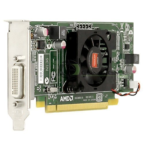 Dell AMD ATI Radeon HD 6350 512MB DDR3 Low Profile DMS-59 Output