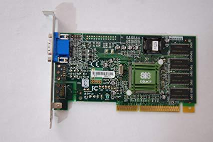 Diamond 22020040-001 Agp Video Card