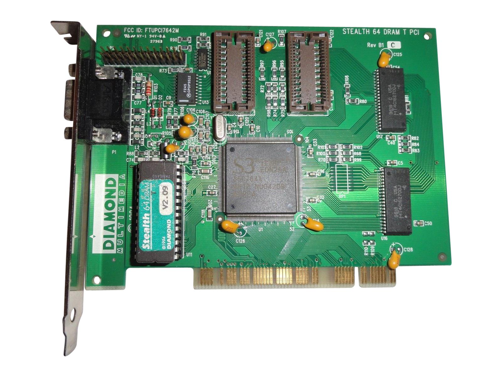 Diamond 23030066-203 Pci Video Diamond Stealth 64 Dram 23030066