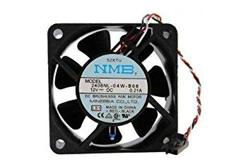 Dell-Minebea 2408Nl-04W-B66 Fan Assy 12Vdc .21A 3-Wire
