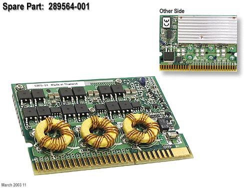 HP PROLIANT ML350 ML370 DL370 DL380 DL560 G3 VRM MODULE