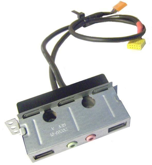 IBM 2G263-01 Lenovo ThinkCentre A60 front I/O audio/USB ports panel w/ cables