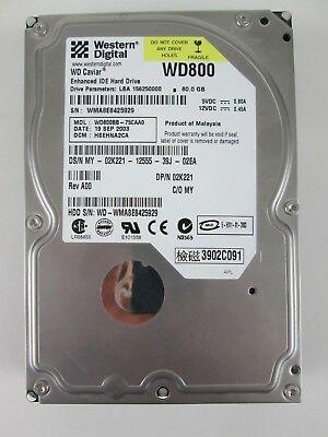 DELL 80GB 7200RPM 3.5 IDE HDD