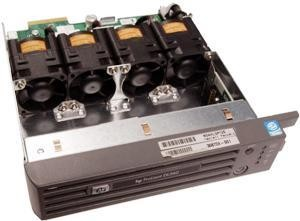 Compaq processor fan assembly with bezel for Proliant DL360